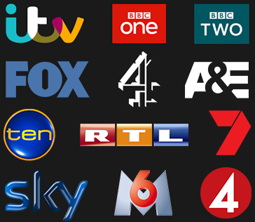Proudly producing content for... ITV, ITV2, BBC One, BBC Two